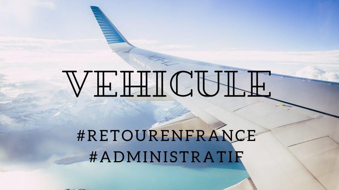 Importer un véhicule en France