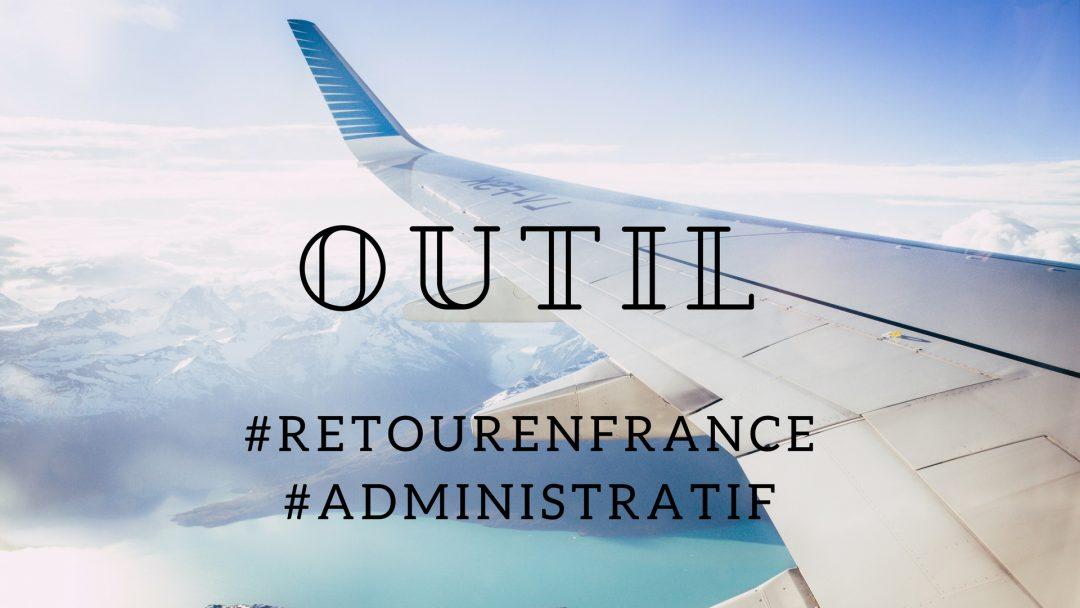 """Le simulateur """"Retour en France"""""""