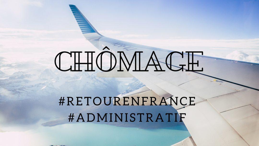 Allocations chômage et retour en France